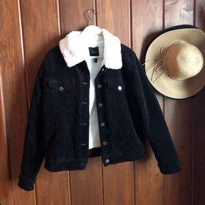 Corduroy Black Jacket